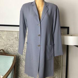 Lafayette 148  long blazer Size 10